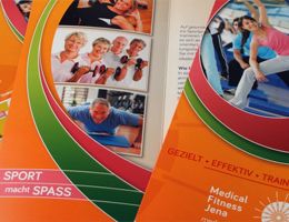 MEDICAL FITNESS JENA Flyer